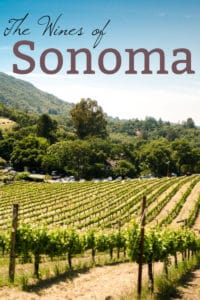 The Wines of Sonoma
